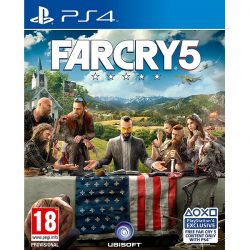 FarCry 5 PS4 cover