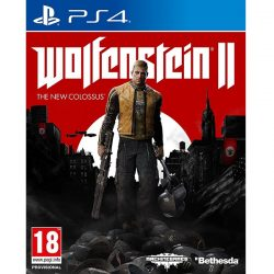 Wolfenstein 2 The New Colossus cover