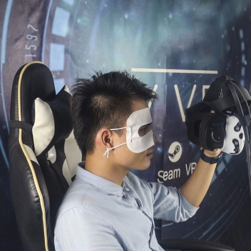 VR face protection