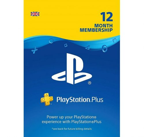 PSN Plus 12 month UK