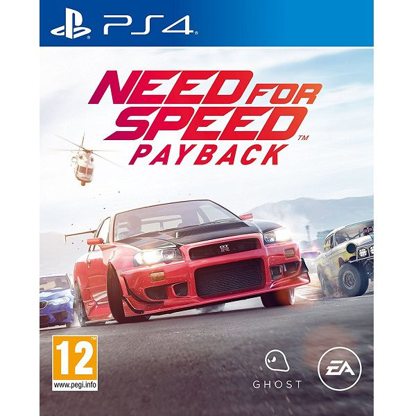 Need for Speed Payback PS4 cover
