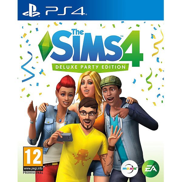 SIMS 4 PS4 Cover