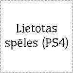 PS4 spēles (lietotas)