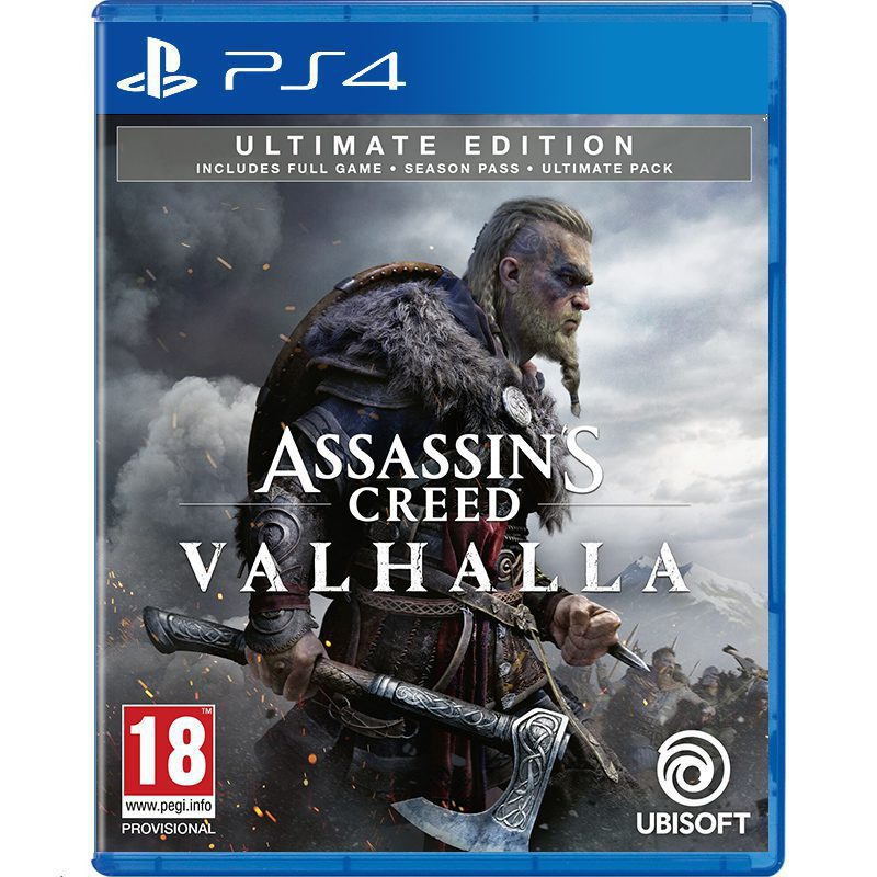 Assassin S Creed Valhalla Ultimate Edition Ps4 Gostation Virtuala Realitate